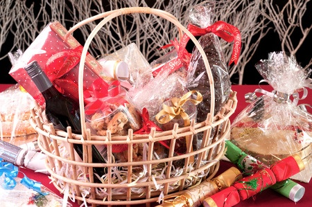 Holiday Food and Gift Hamper with Honey