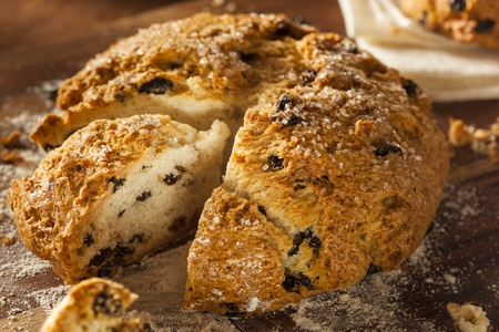 Irish Soda Bread for St. Patrick's Day Made with Honey
